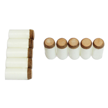 10pcs snooker supplies bar Pool cue repair rod stick tip scrub bar Durable Professional 12mm, Flat. Hot Sale(China)