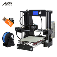 Anet A6 Desktop 3D Printer Kit Big Size High Precision Reprap Prusa i3 DIY 3D Printer Aluminum Hotbed Gift Filament 16G SD Card(China)