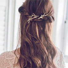 Korean version of the hair ornaments cents cents antlers hairpin fashion personality princess side clip wholesale Hair Jewelry
