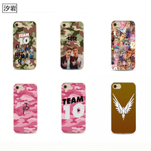 celebrity jake paul cheap cell phone covers for iPhone 6 7 plus 4 4s 5 5s 5c se 6s for Samsung logan paul martinez twins case(China)