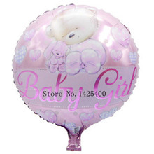 free shipping The new party furnishing floating empty cute cartoon round 18-inch aluminum balloons balloon wholesale baby girl
