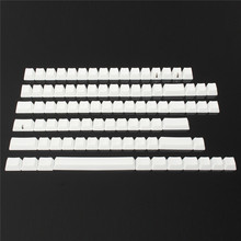 Universal 87Key PBT Keycaps Set Blank No Print Replacement Key Caps For Cherry MX Switch Keyboard DIY Keyboard Keycap