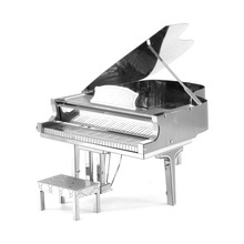 Fashion Piano Scale Models / DIY Metal Crafts Assembled Nano-dimensional Puzzle / Bar Creative Models