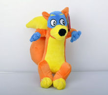 New Dora The Explorer Swiper The Fox Soft Plush Doll Stuffed Toy 8\'\' Kids Gift