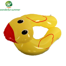Lovely Yellow Duck Inflatable Baby Swimming Ring Children Armpits Circle Inflant Life Buoy Float Buoy Environmental PVC Hot Sell
