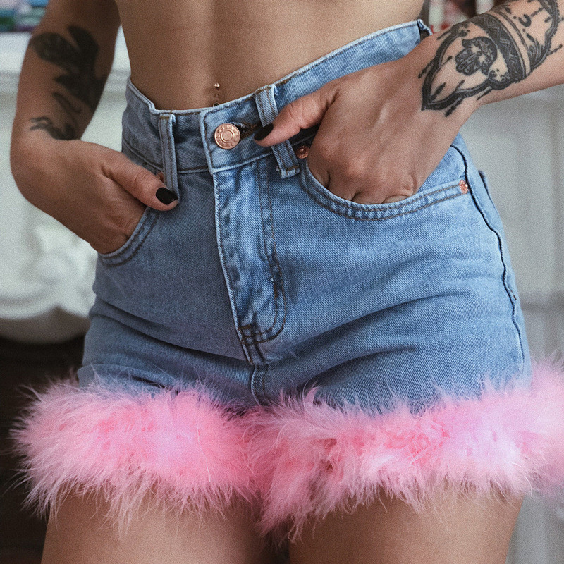 2019 High Waist Jeans Sexy Fashion Jeans Women Skinny Pants Denim Shorts Jeans Hot Sale