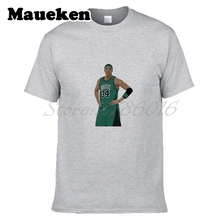 Men The Truth Paul Pierce #34 Anthony Boston Legend T-shirt Clothes T Shirt Men's for fans gift o-neck tee W17080901(China)