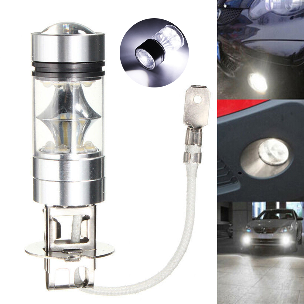 +Cheap+ 2/4/8PCS CAR VEHICLE AUTO LED LAMP H3 XENON WHITE HEAD FOG TAIL LIGHT ULTRA STABLE BULB 2.67X0.7 HIGHT BLIGHT LAMPADA<br><br>Aliexpress