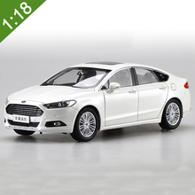 1:18 Scale Diecast Model Car For New FORD MONDEO Fusion 2015 Red White Alloy Toy Car Collection Gifts Free Shipping(China)
