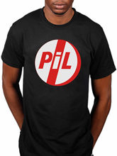 comfortable Brand Men Public Image Ltd Logo Pil John Lydon Album Metal Box First Iss Design T Shirt High Quality Cool(China)