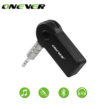 Wireless Car Bluetooth Receiver Adapter 3.5MM AUX Audio Stereo Music Hands-freeHome Car Bluetooth Audio Adapter for Speaker(China)