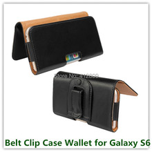 1PCS Drop Shipping Belt Clip Pouch Boss Case for Samsung Galaxy S6 G9200 Cellphone Bags