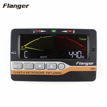 Flanger Guitar Tuner Color Screen Digital Tuner Three In One On Design for Chromatic Guitar Bass Ukulele Violin FMT-206RC