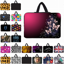 "Notebook Neoprene Sleeve Case Bag For Apple Chuwi Huawei Dell 9.7 10.1 Inch Mini PC 12"" 13"" 14"" 15.6"" 17"" Laptop Protective Bags"