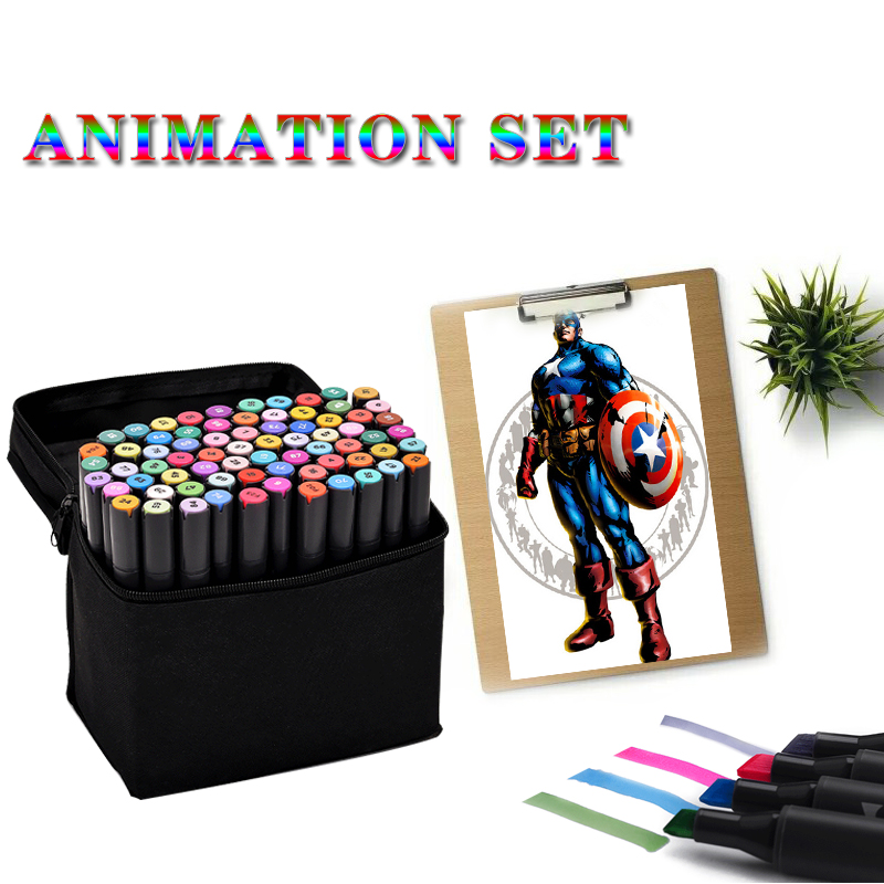 Sta Markers Drawing Animation set Copic Markers Drawing Alcohol Marker Stationary Supplier Student Drawing Marker<br><br>Aliexpress