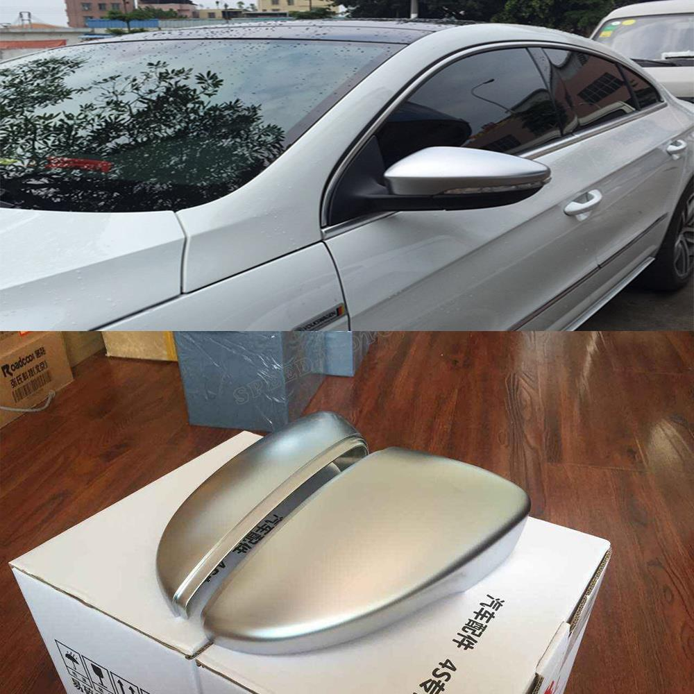ABS Matt Chrome car-covers mirror auto side mirror cover fit for VW passat CC Scirocco 2010-2014<br><br>Aliexpress