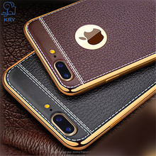 Buy KRY Litchi Grain Phone Cases iPhone 8 Case 8 Plus Luxury TPU Cover iPhone 8 Case 8 Plus Cases Plating Frame Capa Coque for $1.89 in AliExpress store