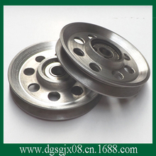 The  idler pulley with anodization finish for wire application