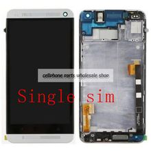 For Htc One M7 802D 802W Lcd Screen display WIth Touch Glass DIgitizer+Frame Assembly SIngle or dual sim Replacement