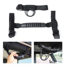 beler Thin Black Roll Bar Grab Handle Holder for Jeep Wrangler 2 4 DOORS 1987-2012 2013 2014 2015 2016 82211740 Car Accessories