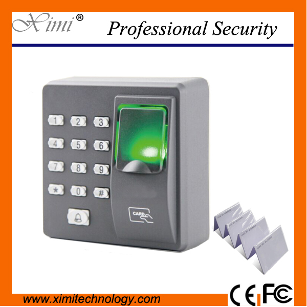 Cheapest Standalone Fingerprint Access Control System With Keypad Dust Proof Door Access Control System X6 Replace X7<br>