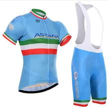 astana cycling shorts bike style sport Breathable pro cycling team Ropa Ciclismo short sleeve mens cycling jersey