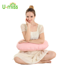 U-miss Multifunctional pillow Body Pillows for Pregnant Women Positional Nursing Assist Waist Support 36X25cm(China)