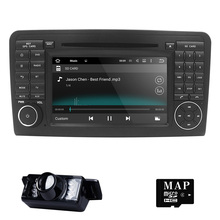 "7"" Car GPS Navigation for Mercedes Benz ML GL W164 ML300 ML350 DVD Radio Android iPod WIFI 3G USB SD CAM-IN OBD2 DAB+Reverse Cam"