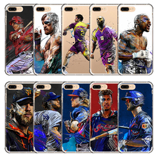 American Football Baseball Boxing Volleyball ice hockey player sport star cell cover soft phone case for iphone X 8 7 6 5 5s 6s(China)