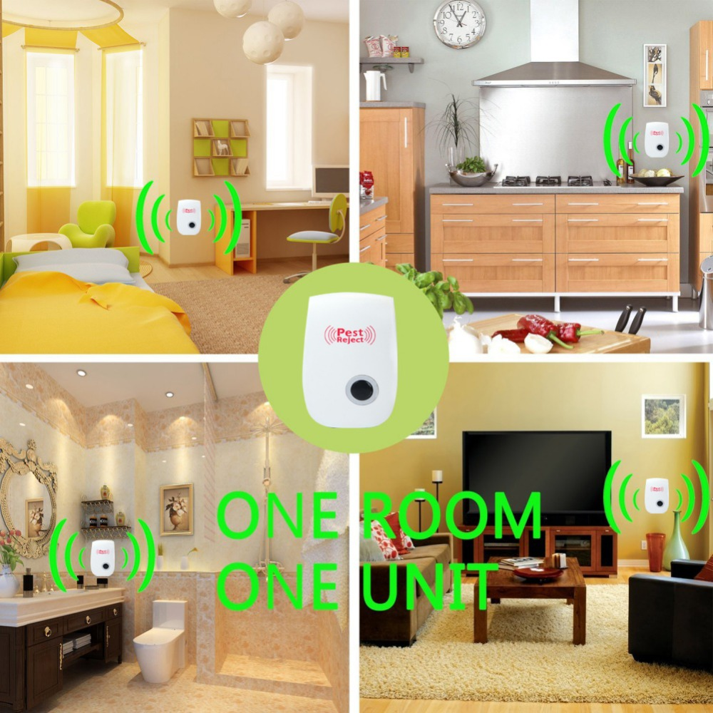 Ultrasonic Mosquito Repeller for Home Garden Anti Mosquito Insect Repeller Rat Mouse Cockroach Pest Reject Repeller