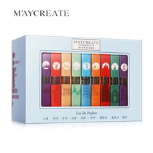 MayCreate 9pcs/lot Paris Female Eau De Parfum Perfumes and Fragrances for Women Antiperspirant Deodorant Liquid Pheromones Spray(China)