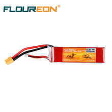 FLOUREON 3S 11.1V 2800mAh 35C Li-Polymer Battery Pack (XT60 Plug) Lipo RC Battery for RC Helicopter RC Airplane RC Hobby