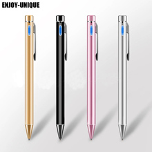 Superfine 1.45mm Active Capacitive Screen Stylus Tablet/Mobile Phone Touch pen For iPhone/iPad/Samsung/Sony Tablets Metal Pencil(China)