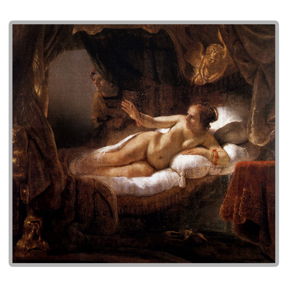 Рембрандт Обнаженная Женщина