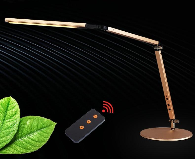 Artpad Energy Saving Modern LED Desk Lamp Dimmer Eye Care Swing Long Arm Business Office Study Desktop Light for Table Luminaire 5