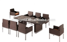 2017 new design outdoor furniture japanese dining table