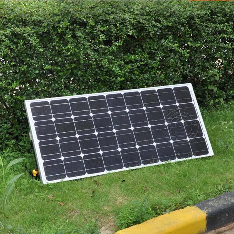 solar panel 18v 100W bracket mount new