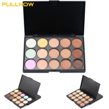 Natural Concealer Palette 10*15cm Professional 15 Colors Makeup Foundation Facial Face Cream Palettes Cosmetic Make Up Color