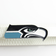 Fashion Seattle Seahawks Floating Charms Living Glass Memory Lockets Charm DIY Jewelry NFL Football Floating charms