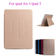 Flip Case For Apple ipad Air 1 ipad 5 Cases PU Leather Soft Silicon TPU Back Cover Tablet Stand Card Slots Protect Shell housing