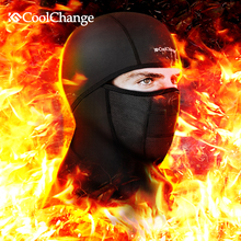 Coolchange Winter Cycling Face Mask Cap Ski Bike Mask Face Thermal Fleece Snowboard Shield Hat Cold Headwear Bicycle Face Mask