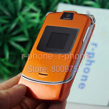Refurbished Oriainal Unlocked Motorola RAZR V3 Mobile Phone English Arabic Russian Keyboard Offer