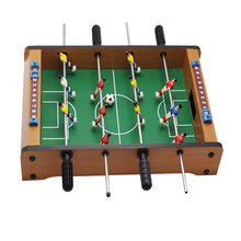 Babyfoot soccer ball factory direct mini wooden indoor table football football table football game 34.5 * 21.5 * 8CM(China)