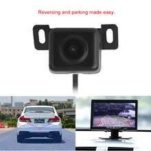 2017 Hot Sale Waterproof Small Night Vision Car Back Front Rear View Camera Auto Reverse Parking Rearview Camera Black