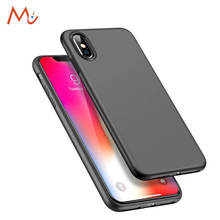 Back Cover for iPhone X 8 8 Plus Case Silicone Cool Slim Matte TPU Soft for iPhone 7 / 7Plus Case for Man