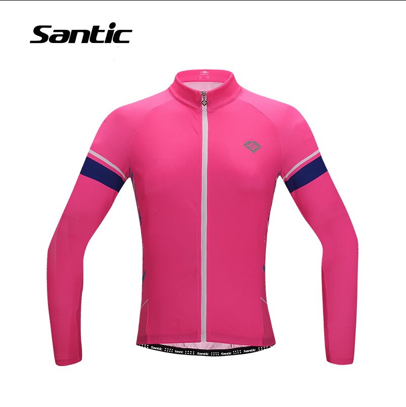 2017 New Cycling jersey spring and autumn long-sleeved cycling Clothing Clicismo Jacket Elastic Quick-drying wicking Santic<br><br>Aliexpress