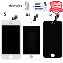 AAA Quality No Dead Pixel for iphone 5 5s 5c for Iphone5 LCD display Touch Screen Digitizer Assembly