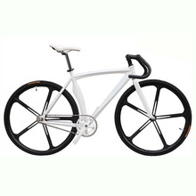 Buy Fixed Gear Bike Fixie Bike Aluminum Frame 46/52cm DIY 700C Muscular Frame Bicicleta Road Bike Aluminum Fixie Bicycle Fixed Gear for $252.00 in AliExpress store