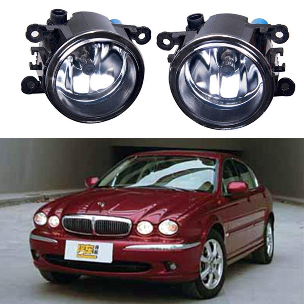 For jaguar x type cf1 saloon 2001 2009 car styling fog lights halogen lamps