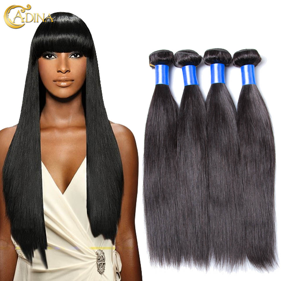 Brazilian Virgin Hair Straight 4 Bundles Straight Brazilian Hair 100g Bundle Human Hair Extensions 100% Unprocessed Virgin Hair<br><br>Aliexpress